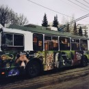 Зелёный троллейбус