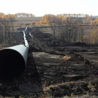 Опубликована фотография трубы будущего водовода для производственных нужд Томинского ГОКа