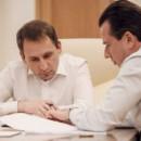 Введение института экологического аудита обсудили Александр Козлов и Владимир Бурматов